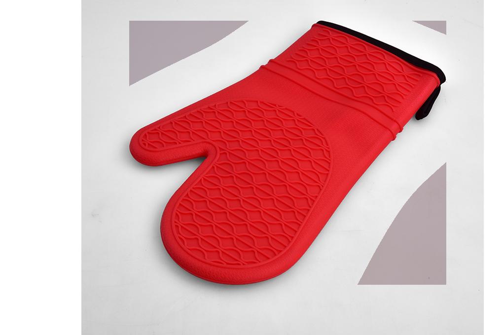 SILIKÓNOVÁ rukavica červená