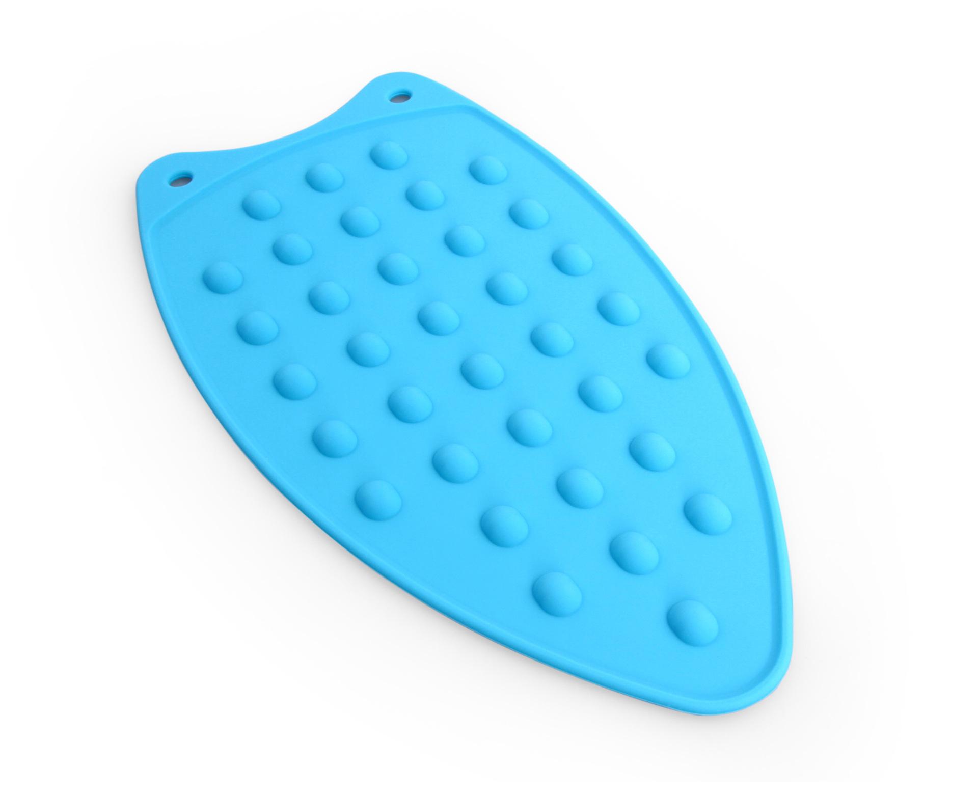 PARKOVIŠTĚ NA ŽEHLIČKU silikonová podložka  modrá