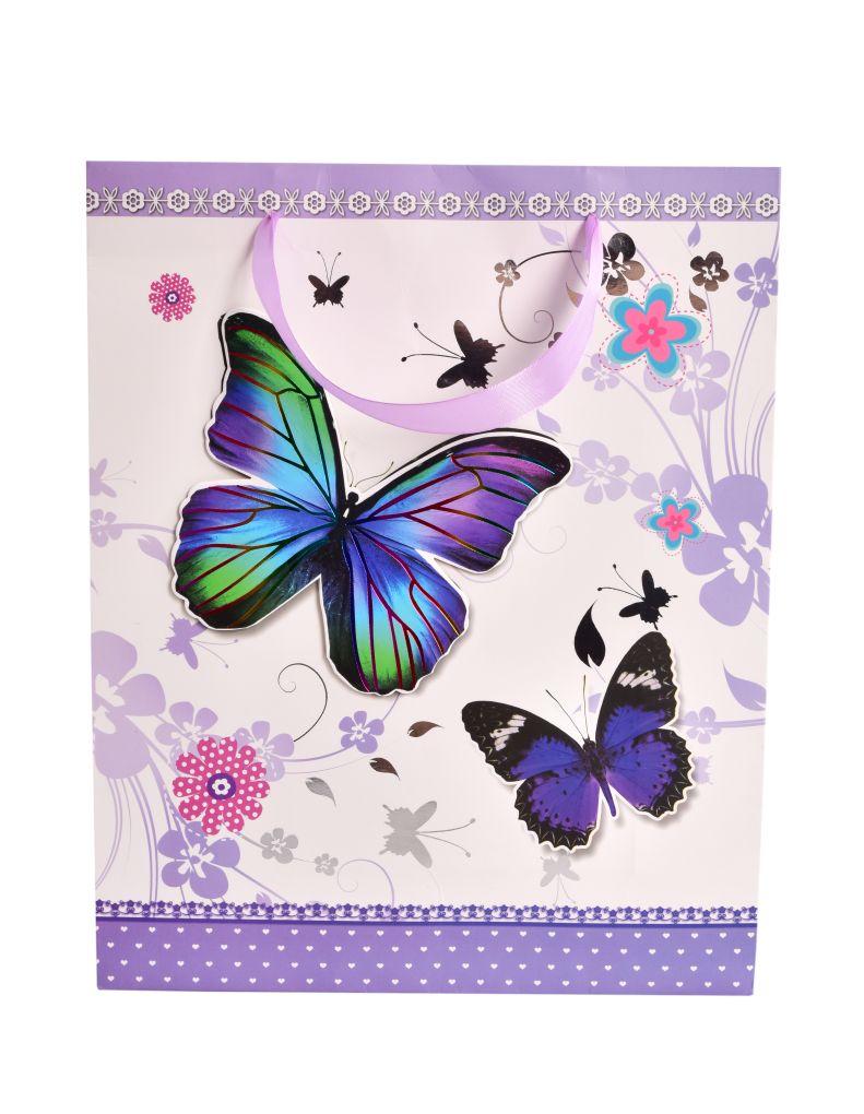 3D dárková taška motýli