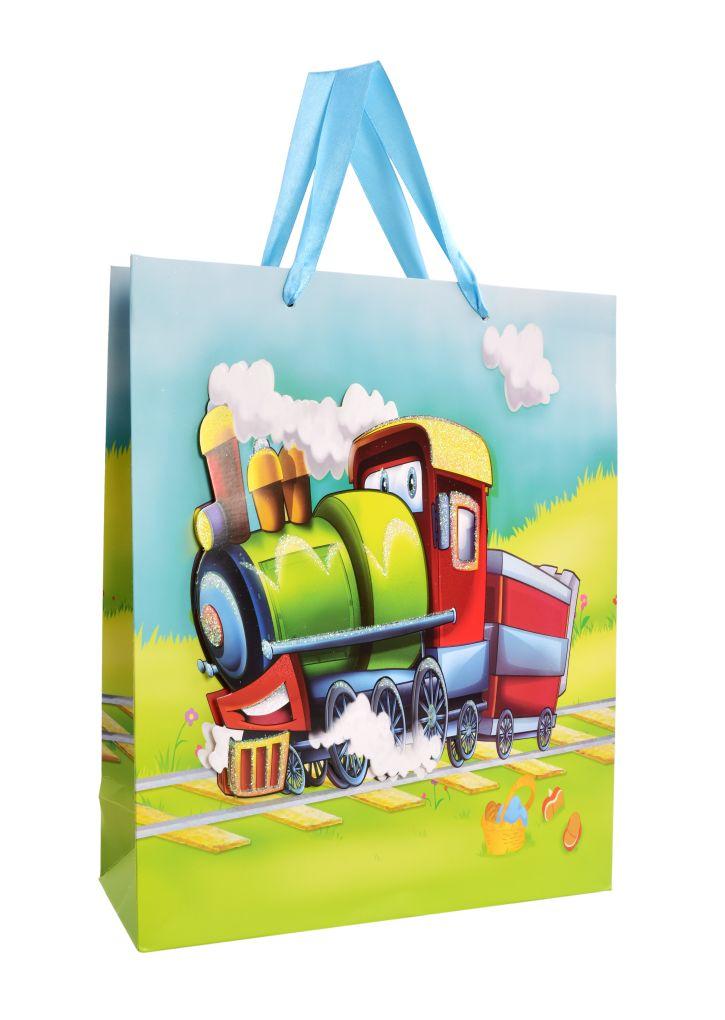 3D dárková taška lokomotiva