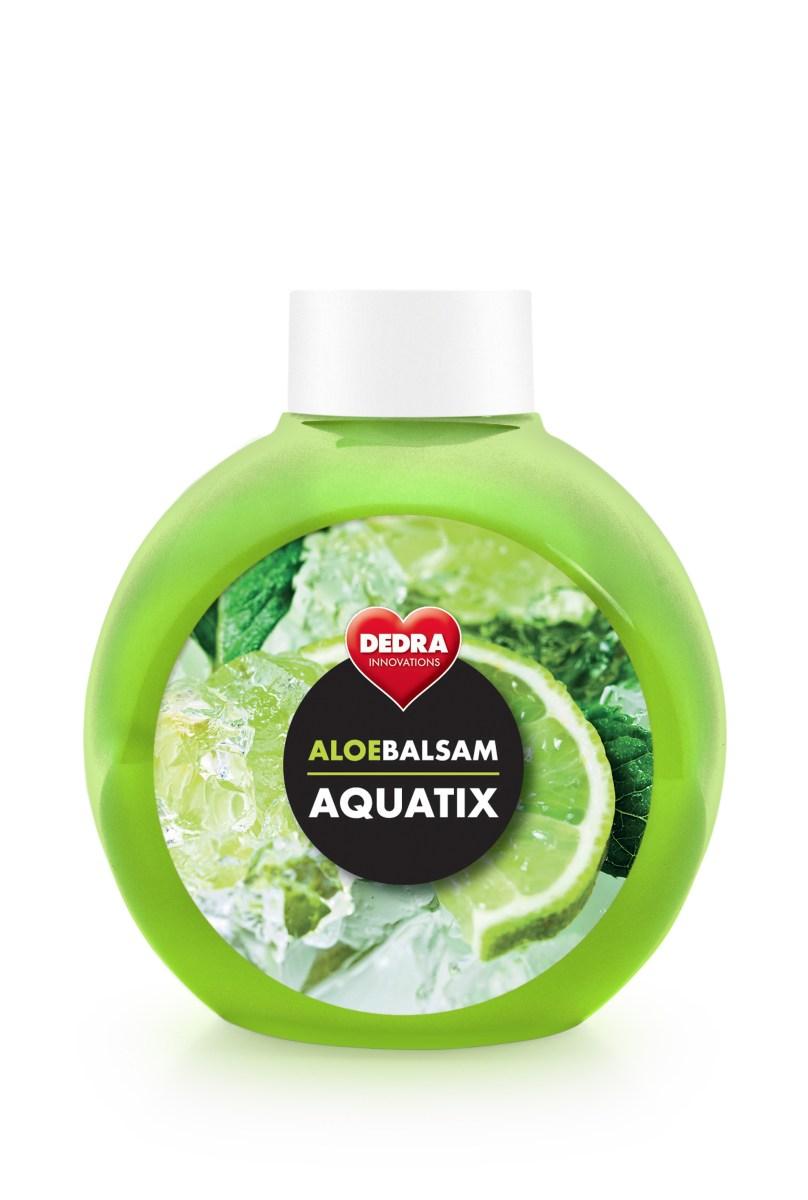 ALOEBALSAM AQUATIX koncentrát na ruční mytí nádobí, osvěžující limetka bez pumpičky