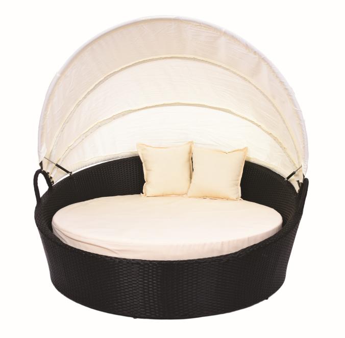 SLUNEČNÍ OSTROV, kulatá postel