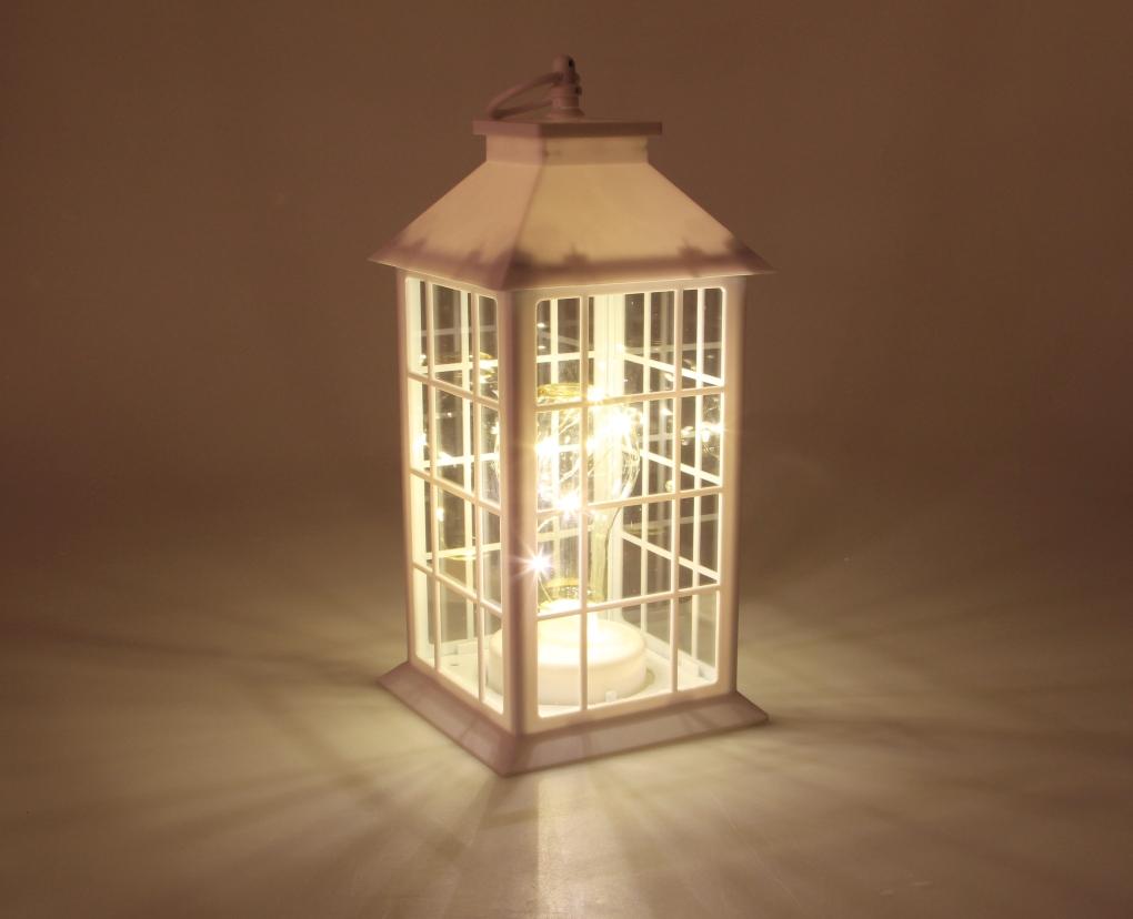 LED lucerna, s žárovkou