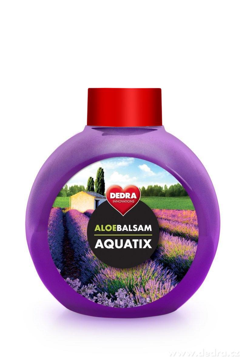 Koncentrát na ruční mytí nádobí, ALOEBALSAM AQUATIX relaxation, bez pumpičky