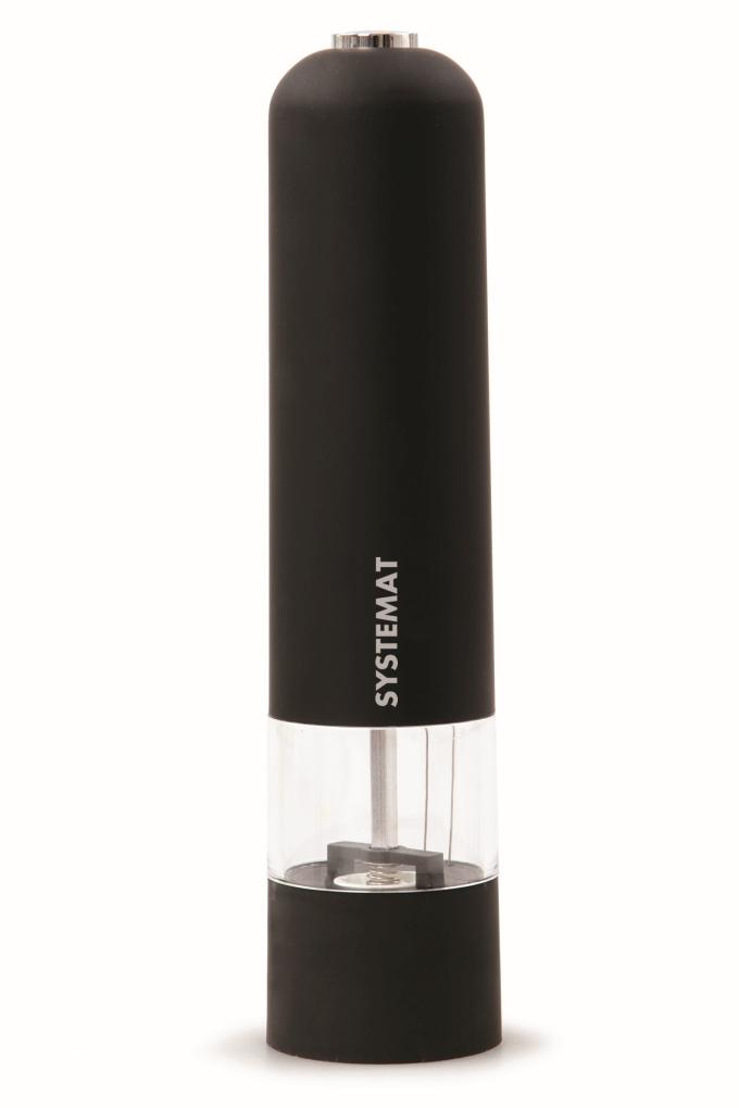 XXL elektrický mlýnek s LED osvětlením, SYSTEMAT