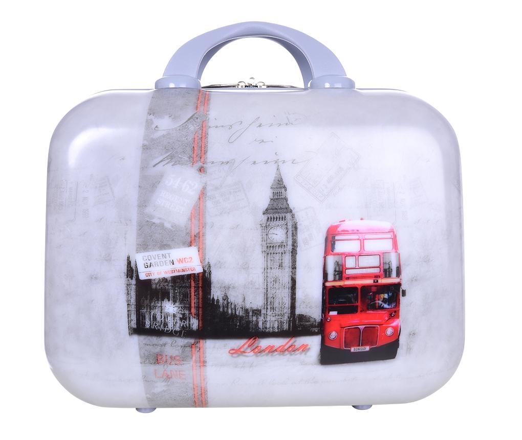 Kufr příruční menší  LONDON BUS 32 x 14 x 24 cm