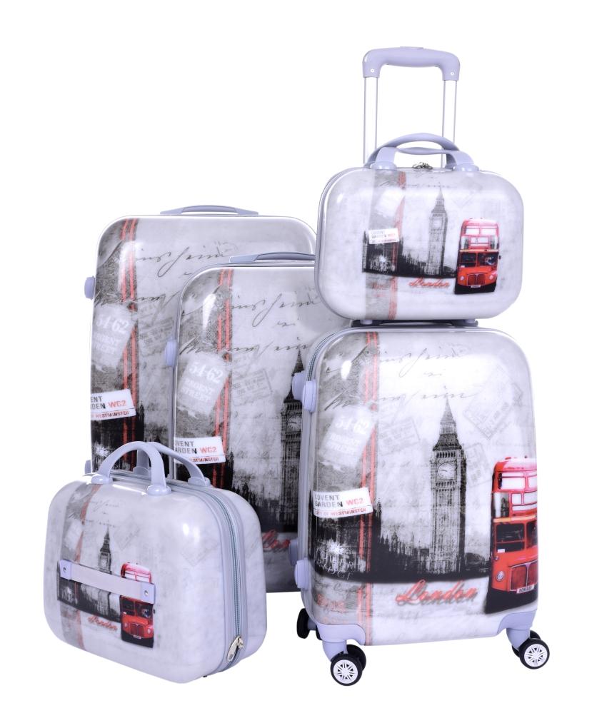 Kufr příruční menší, LONDON BUS
