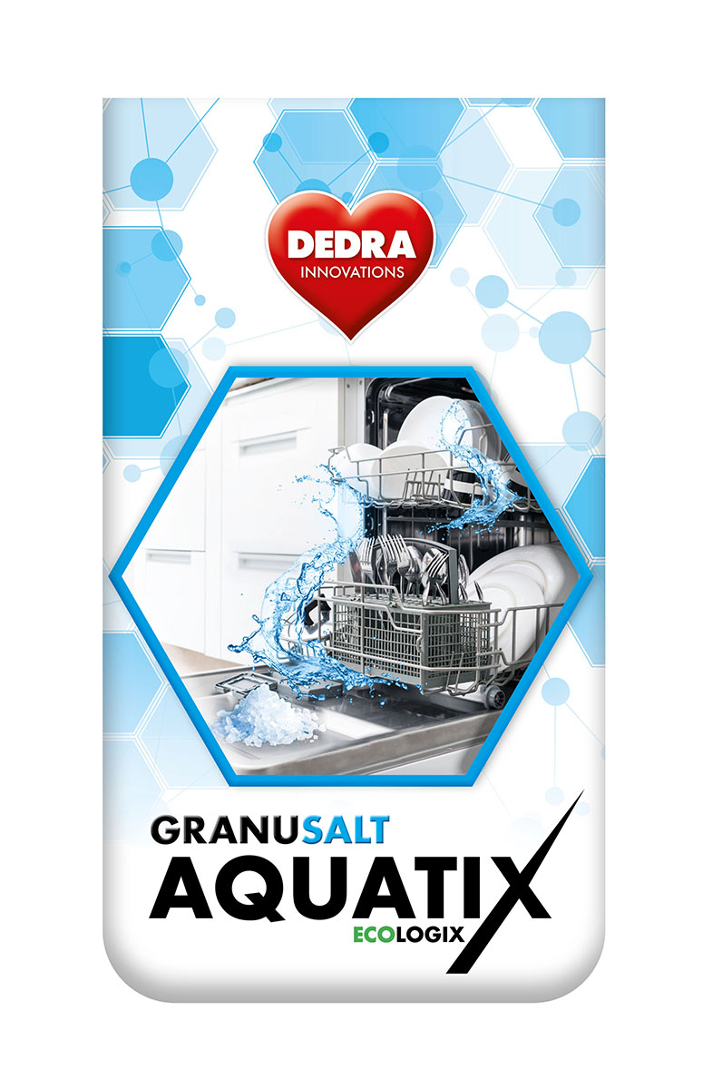 3 kg sůl do myčky AQUATIX GRANULATED SALT