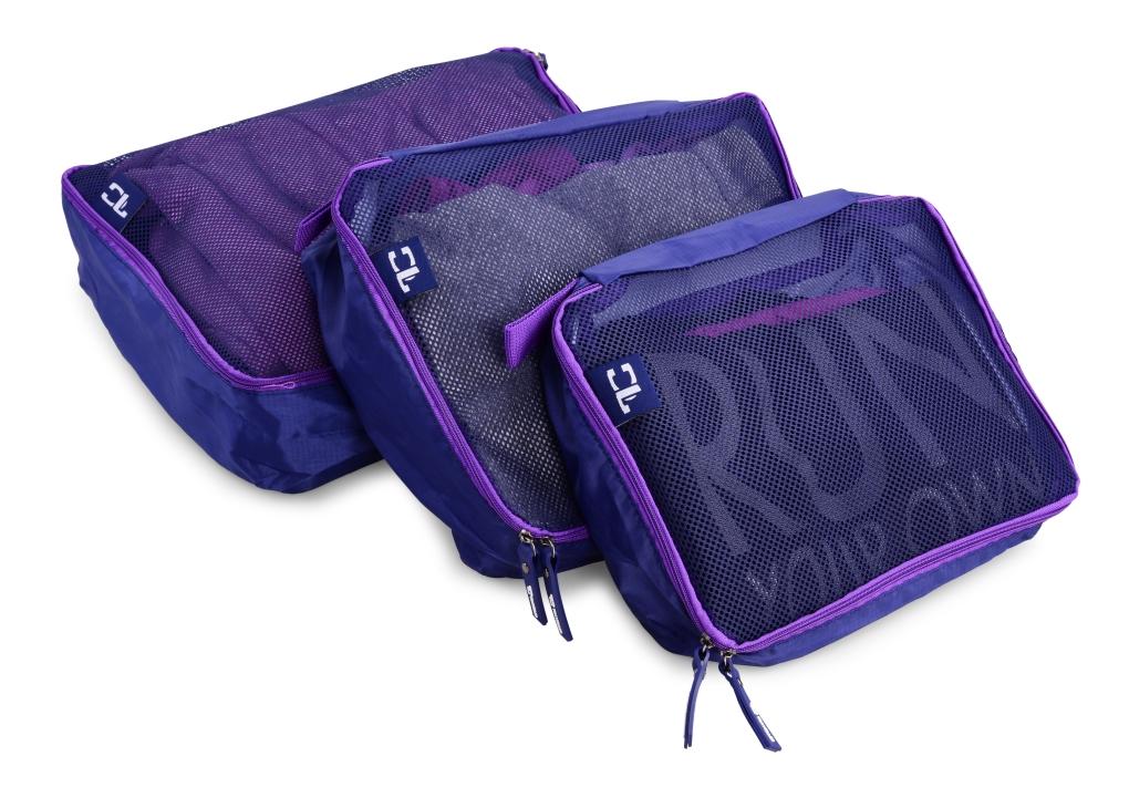 3 ks TRAVELLER zavazadlový organizér na textil