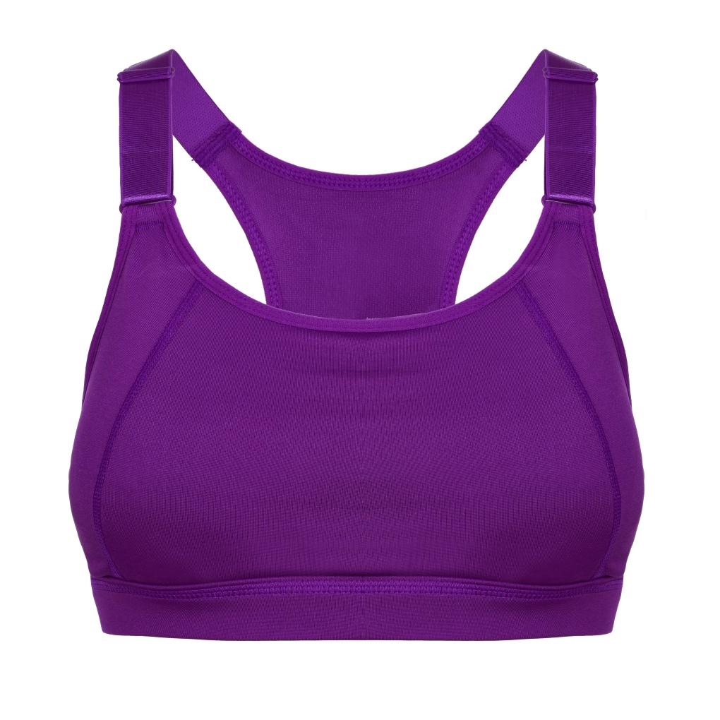 Podprsenka  sportovní fialová vel.1(S)