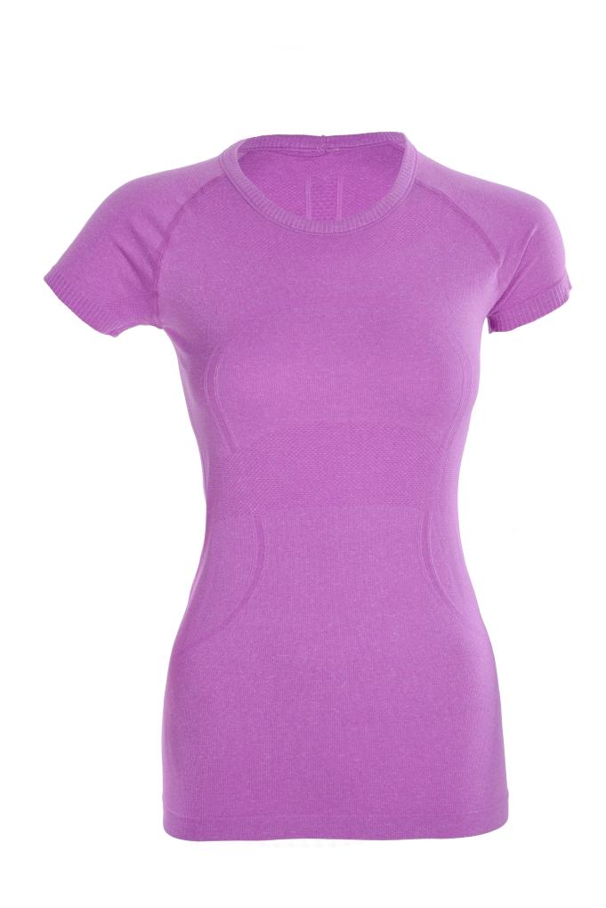 Funkční dámské tričko sportovní fialové vel.1(S)