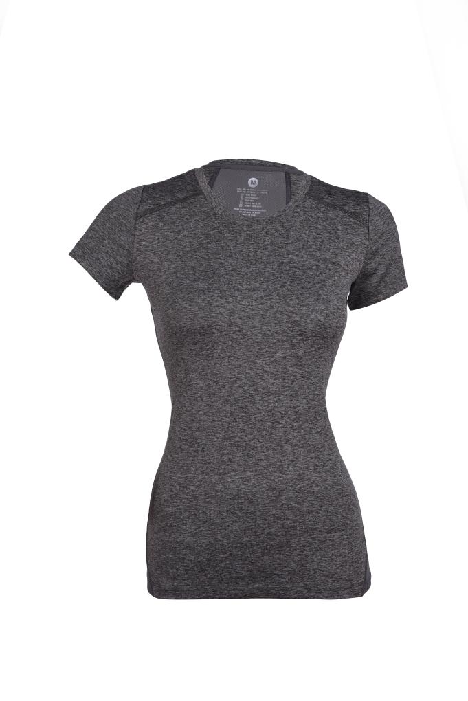 Dámské tričko funkční šedá melange (melír) vel.1(S)