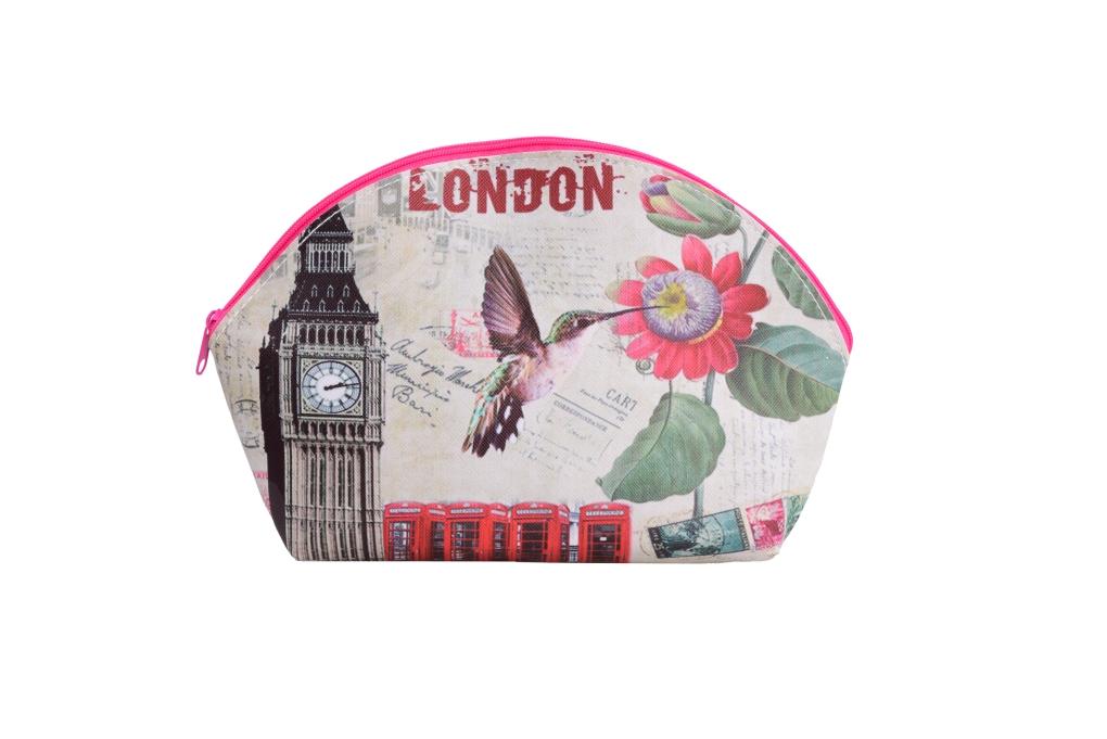 Kozmetická taštička London telephone
