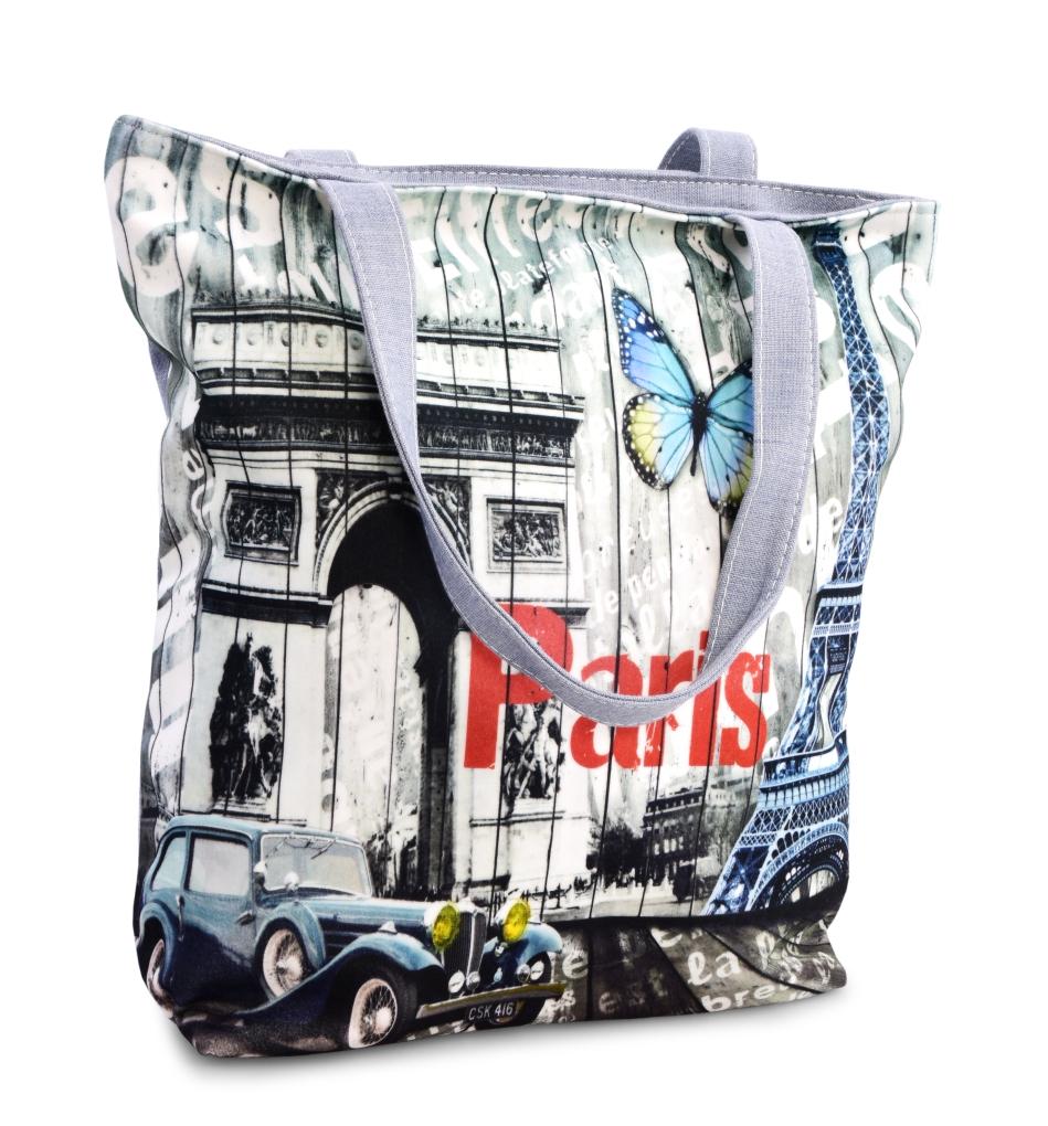 Elegantní taška, textilní