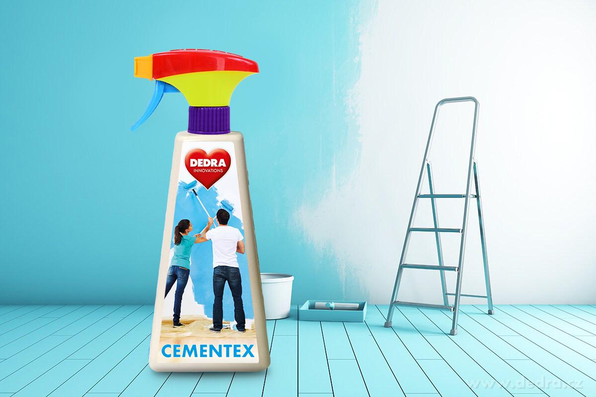 HC0157-CEMENTEX odstraňovač cementových a vápenatých povlakov po maľovaní