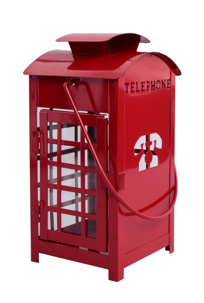 Kovová lucerna TELEPHONE