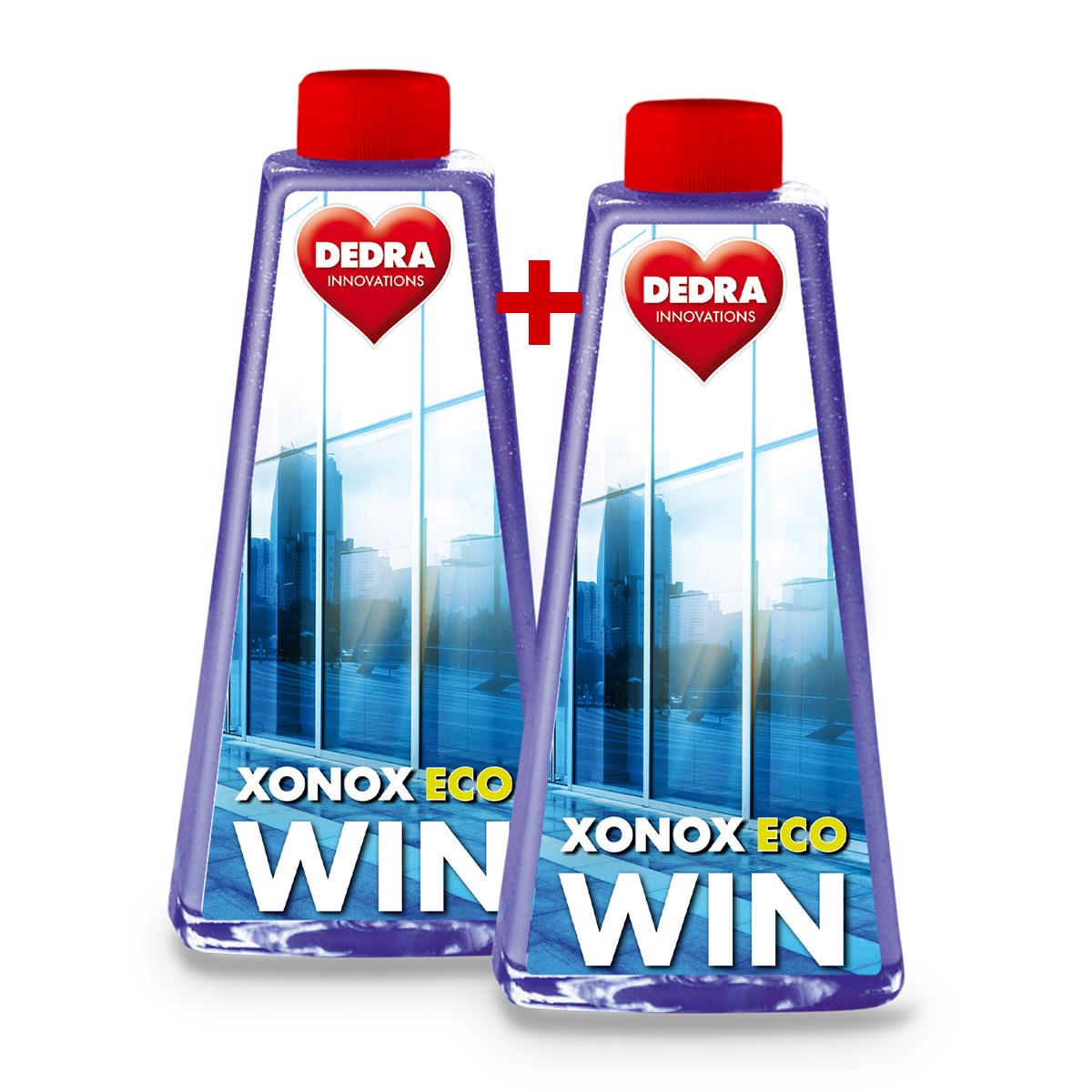 2 ks EKO čistič na okna XONOX ECOWIN náhradní náplně, bez rozprašovače