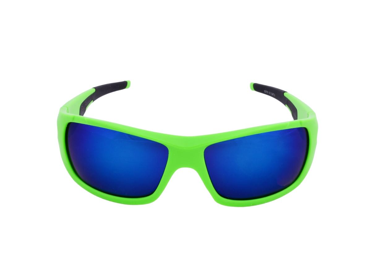 Sluneční brýle 100% UV ochrana zeleno černé