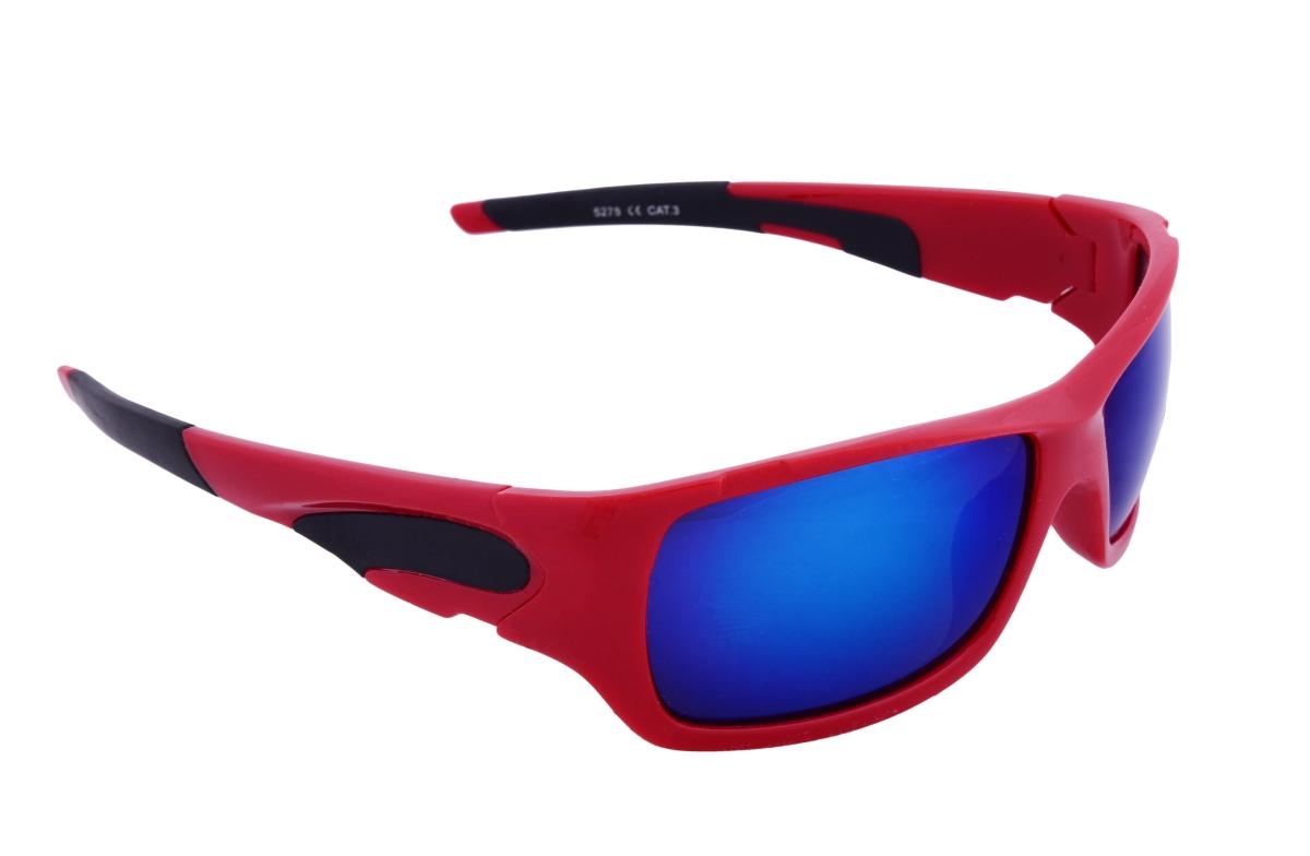 Sluneční brýle 100% UV ochrana červeno černé