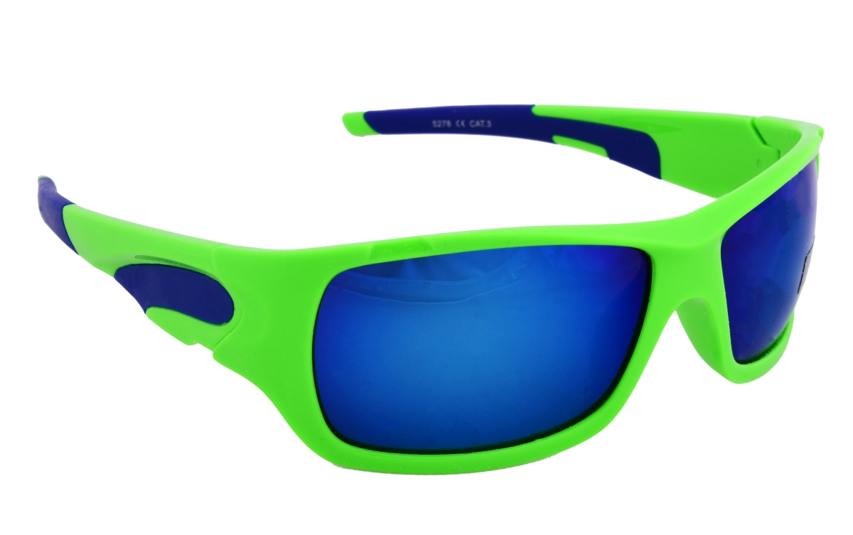 Sluneční brýle 100% UV ochrana zeleno modré