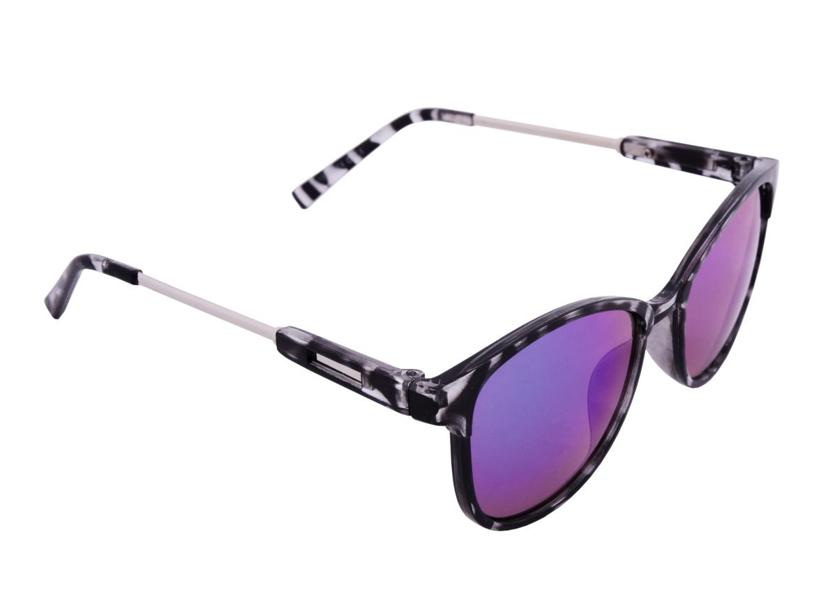 Sluneční brýle 100% UV ochrana šedo černé