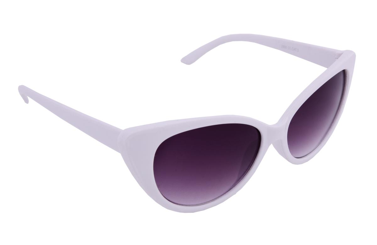 Sluneční brýle 100% UV ochrana bílé