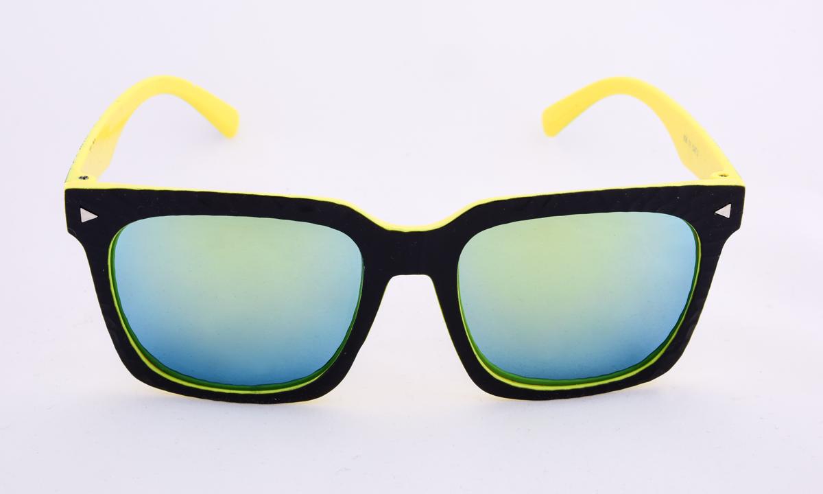 Sluneční brýle 100% UV ochrana černo žluté