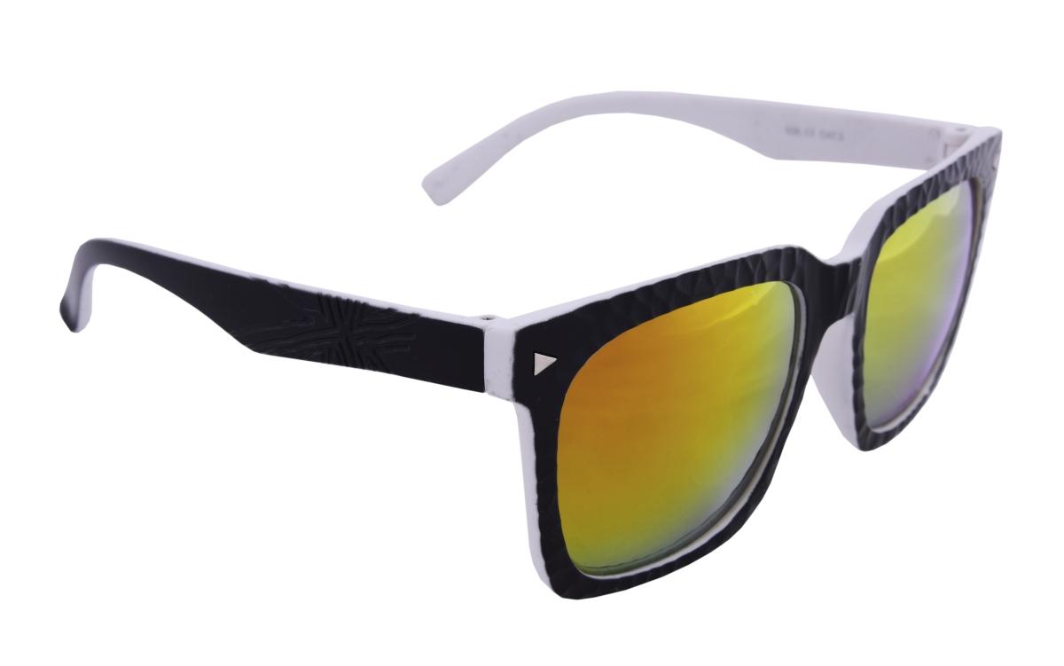Sluneční brýle 100% UV ochrana černo bílé