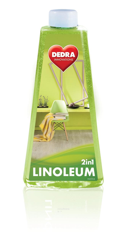 LINOLEUM 2in1 mycí prostředek na podlahy z PVC, linolea a nových hmot