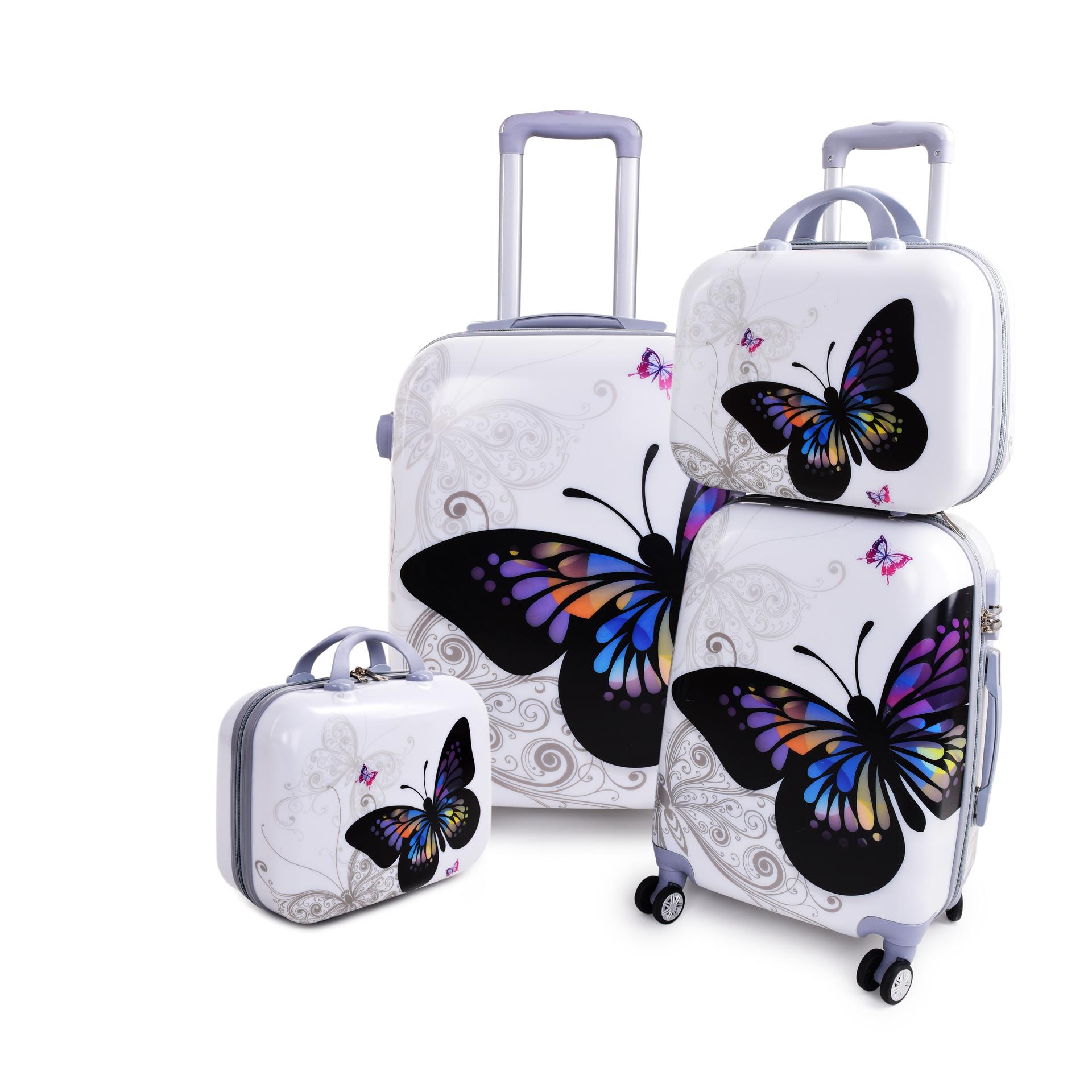 Kufr příruční větší, BIG BUTTERFLY