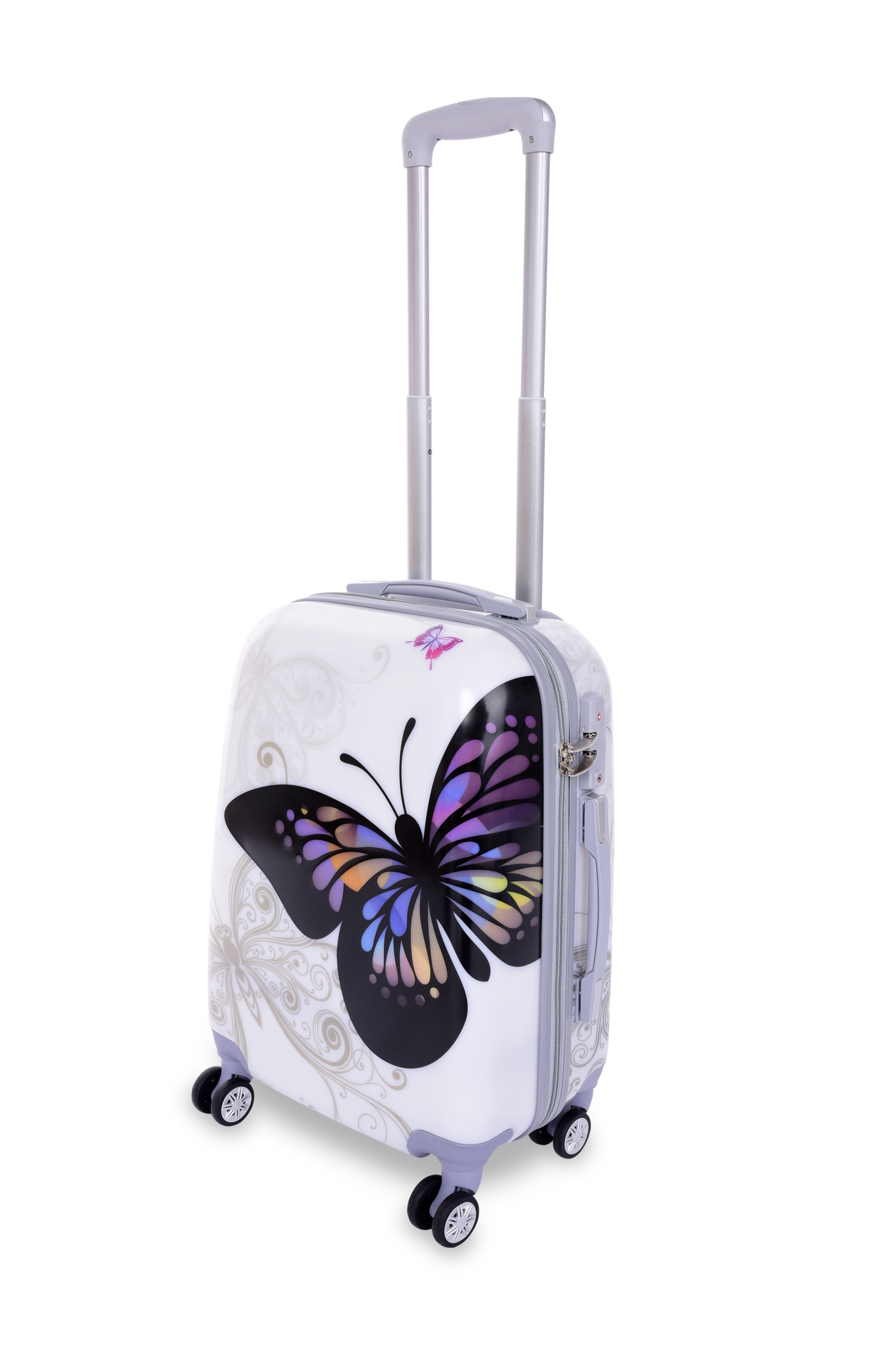 TSA kufr menší, BIG BUTTERFLY