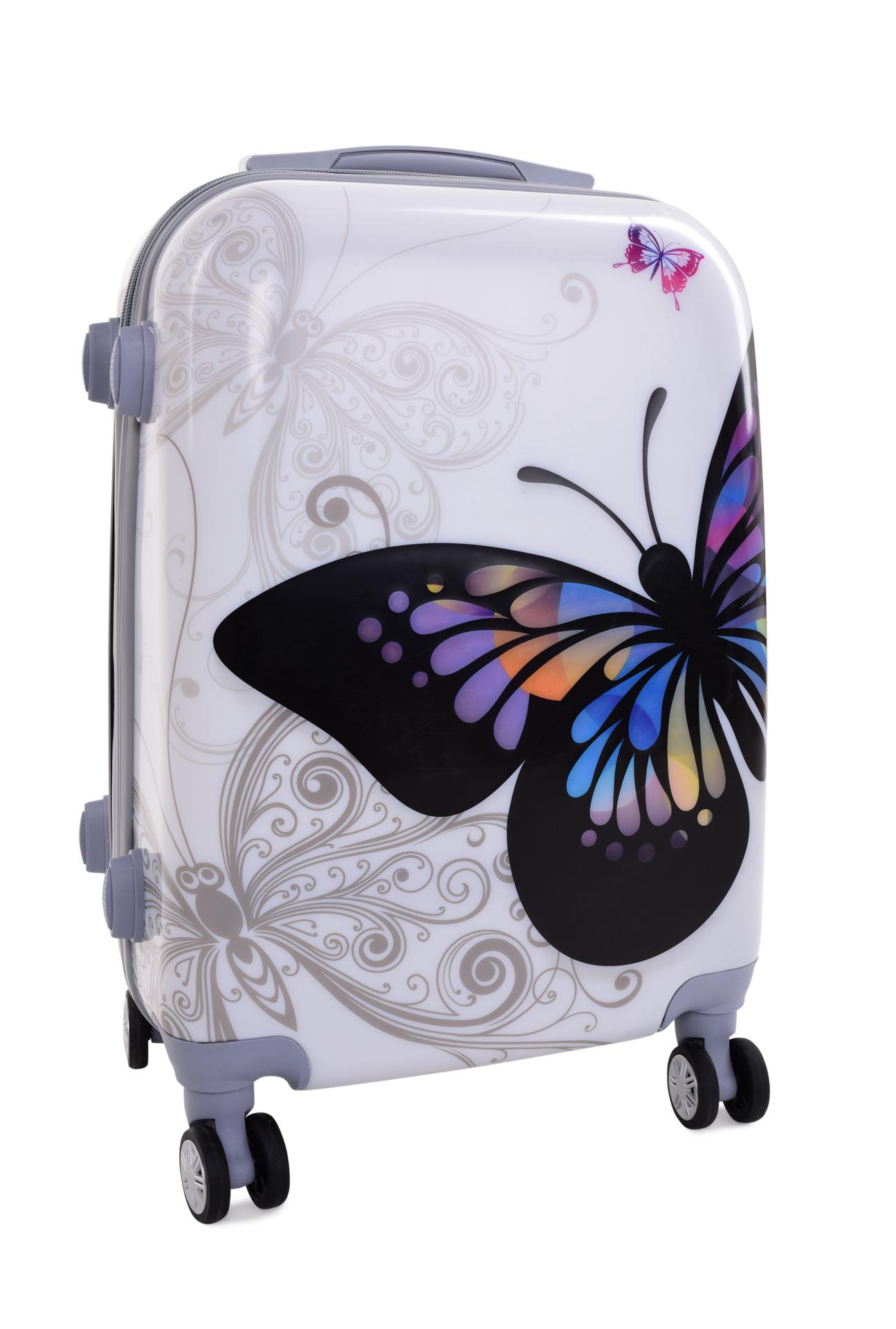 TSA kufr menší BIG BUTTERFLY