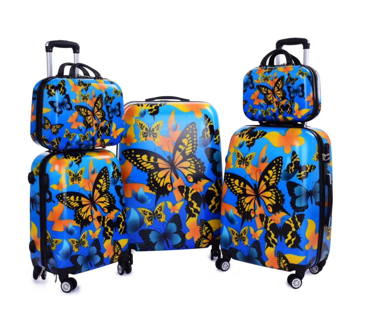 Kufr příruční větší, BUTTERFLIES
