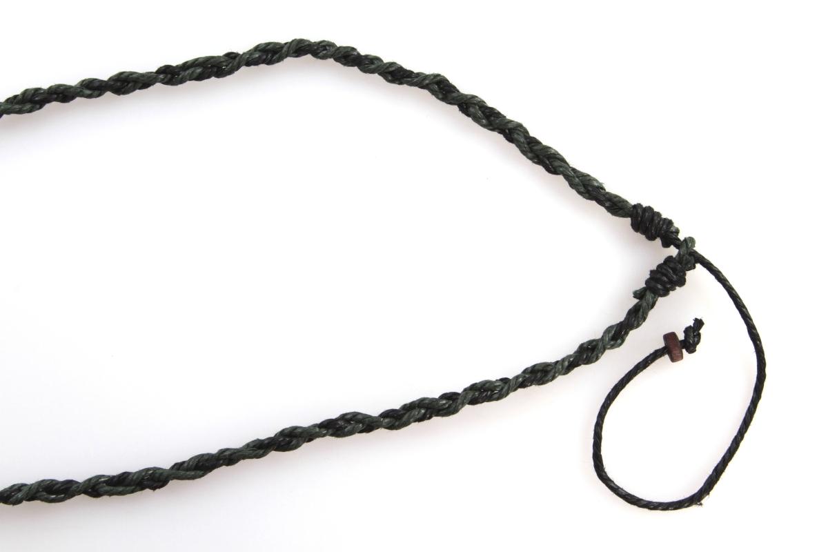 NATURAL náhrdelník  olivové srdce