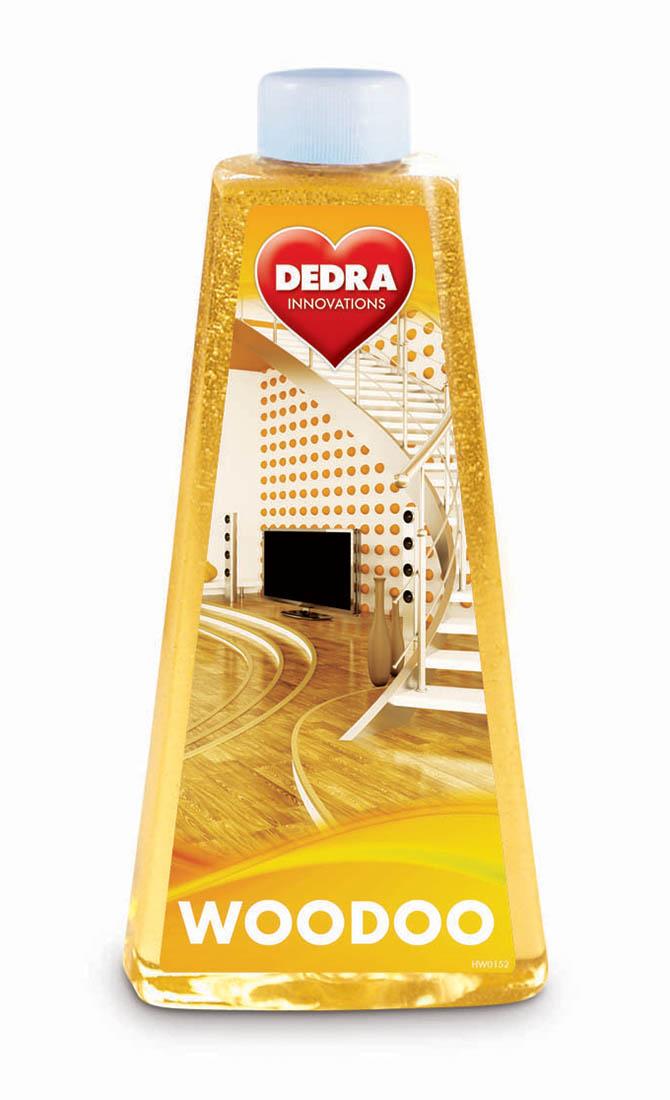 HW0152-Woodoo 2in1 čistiaci a ošetrujúce prostriedok na drevené podlahy a parkety