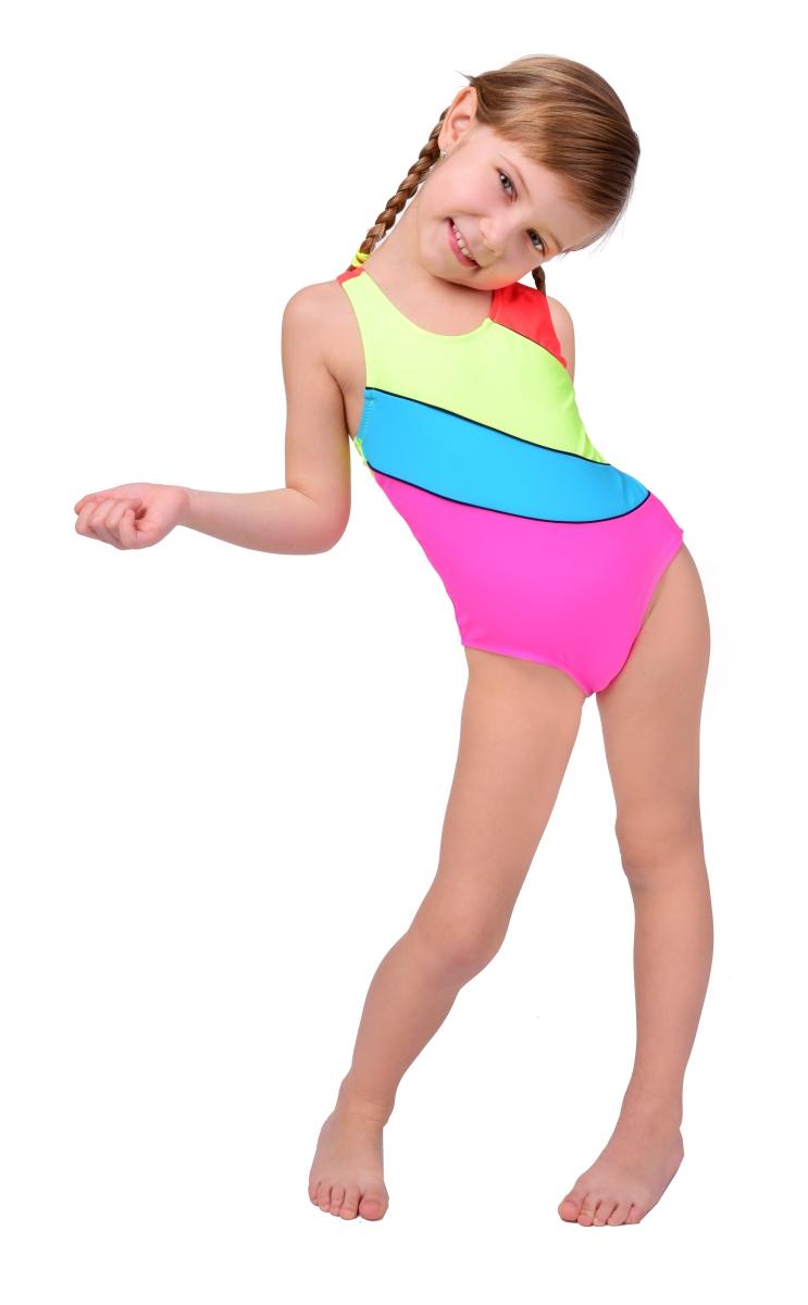 BELA jednodílné dívčí plavky    vel.4