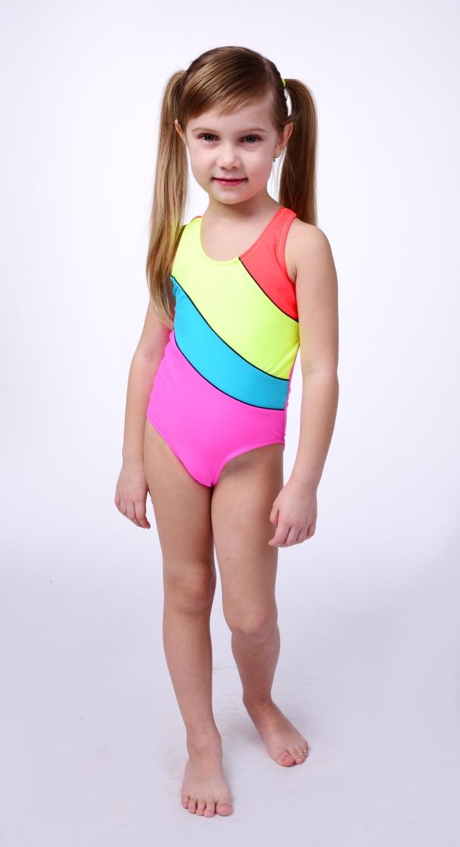 FC99761-BELA jednodielne plavky dievčenské