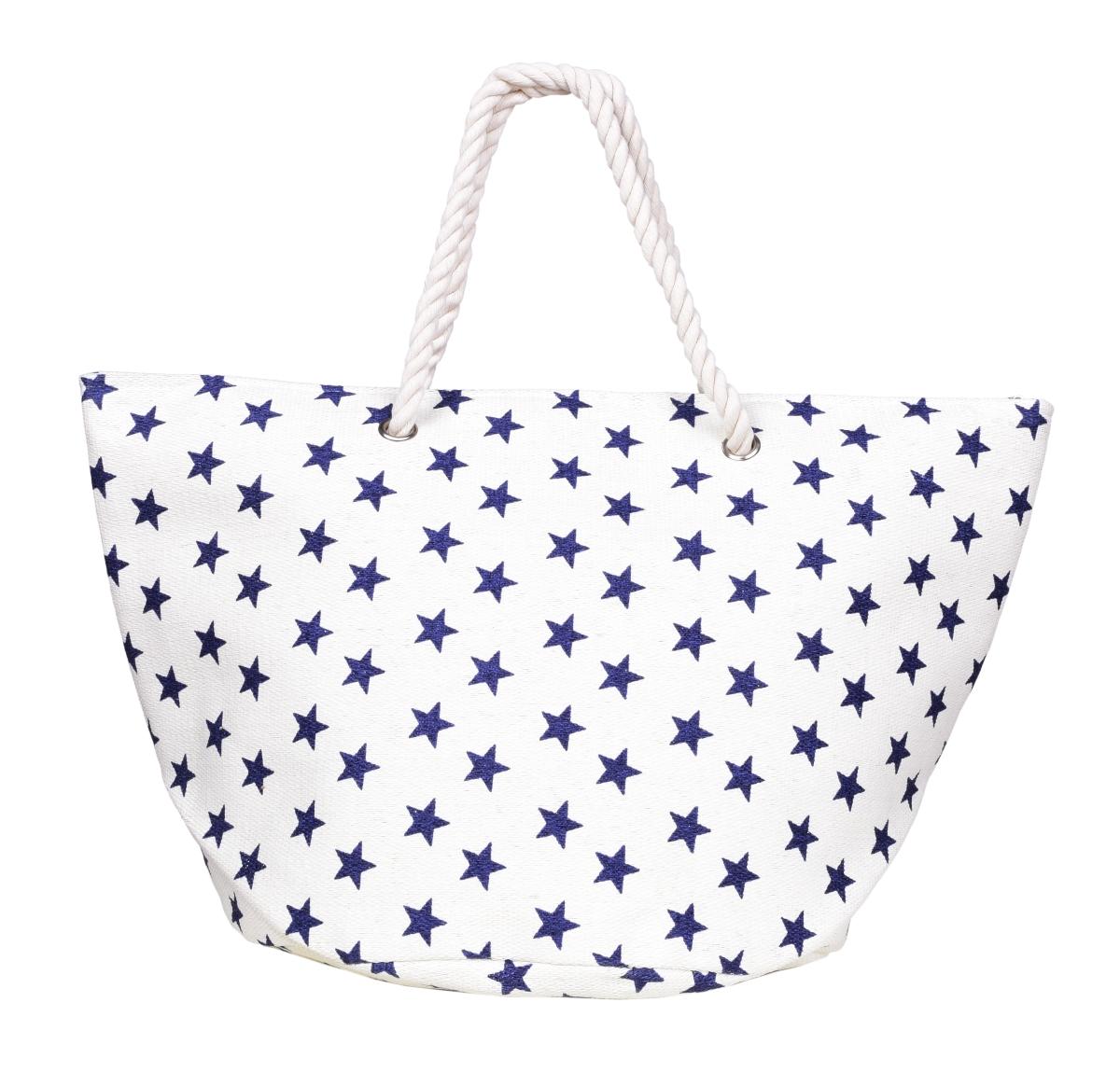 MARINE velká kabelka  modré hvězdičky