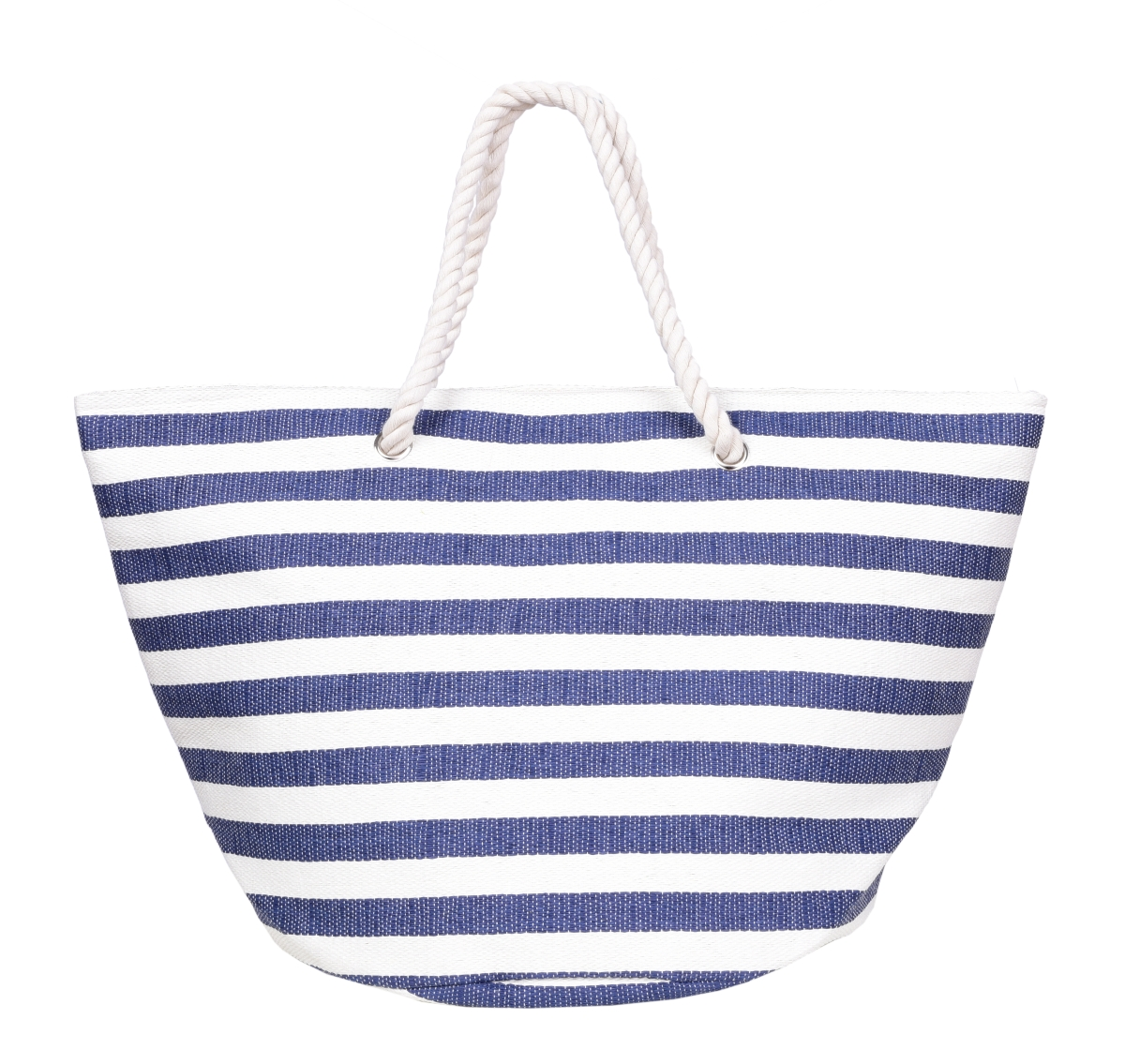 MARINE velká kabelka, modré pruhy