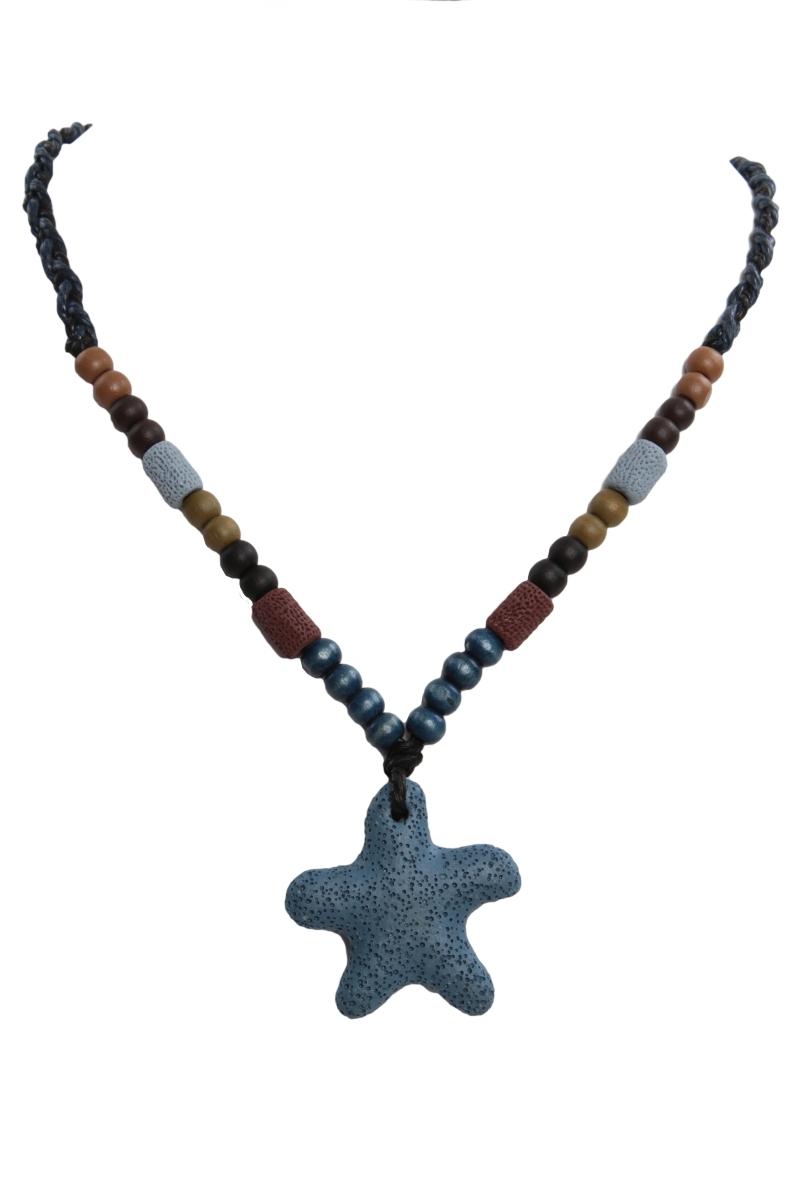 NATURAL náhrdelník, marine hvězdice