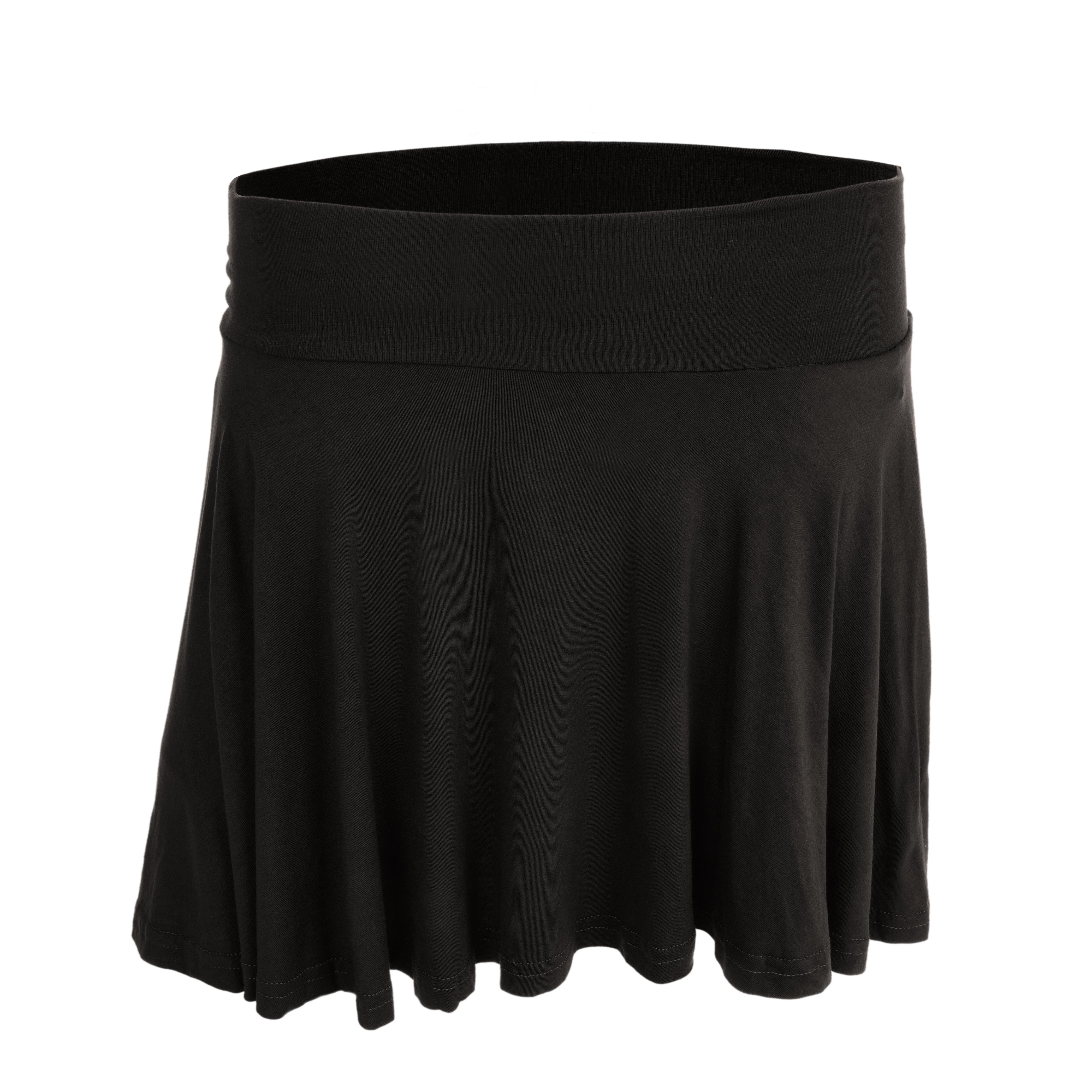 WHEELY kolová sukně černá
