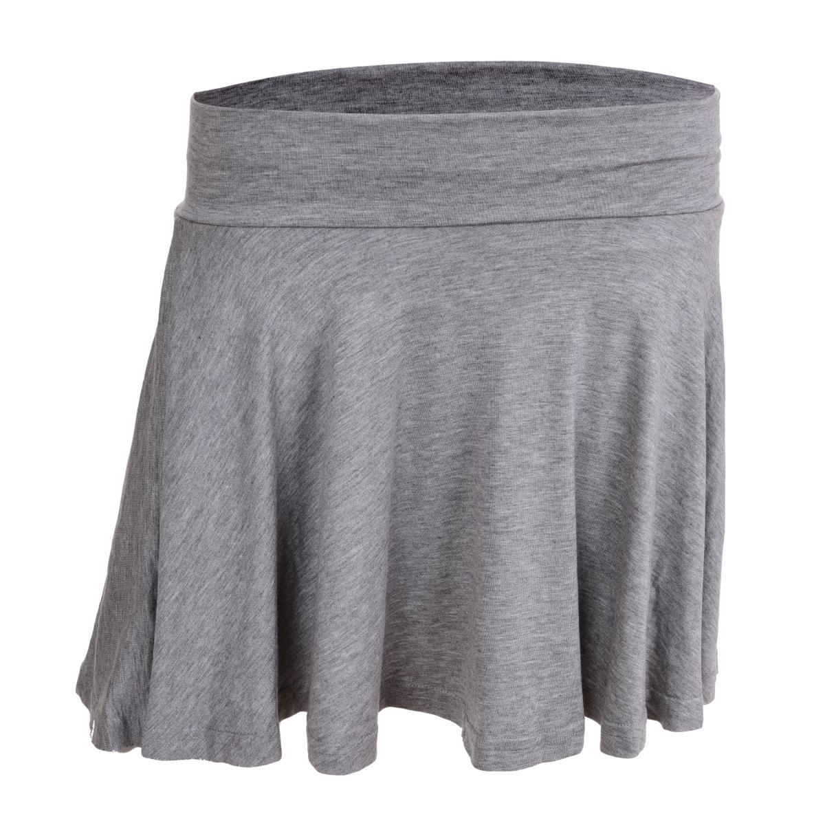 WHEELY kolová sukně šedá