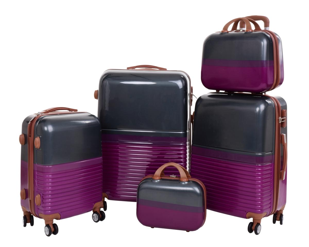Kufr příruční větší, GRAY PURPLE