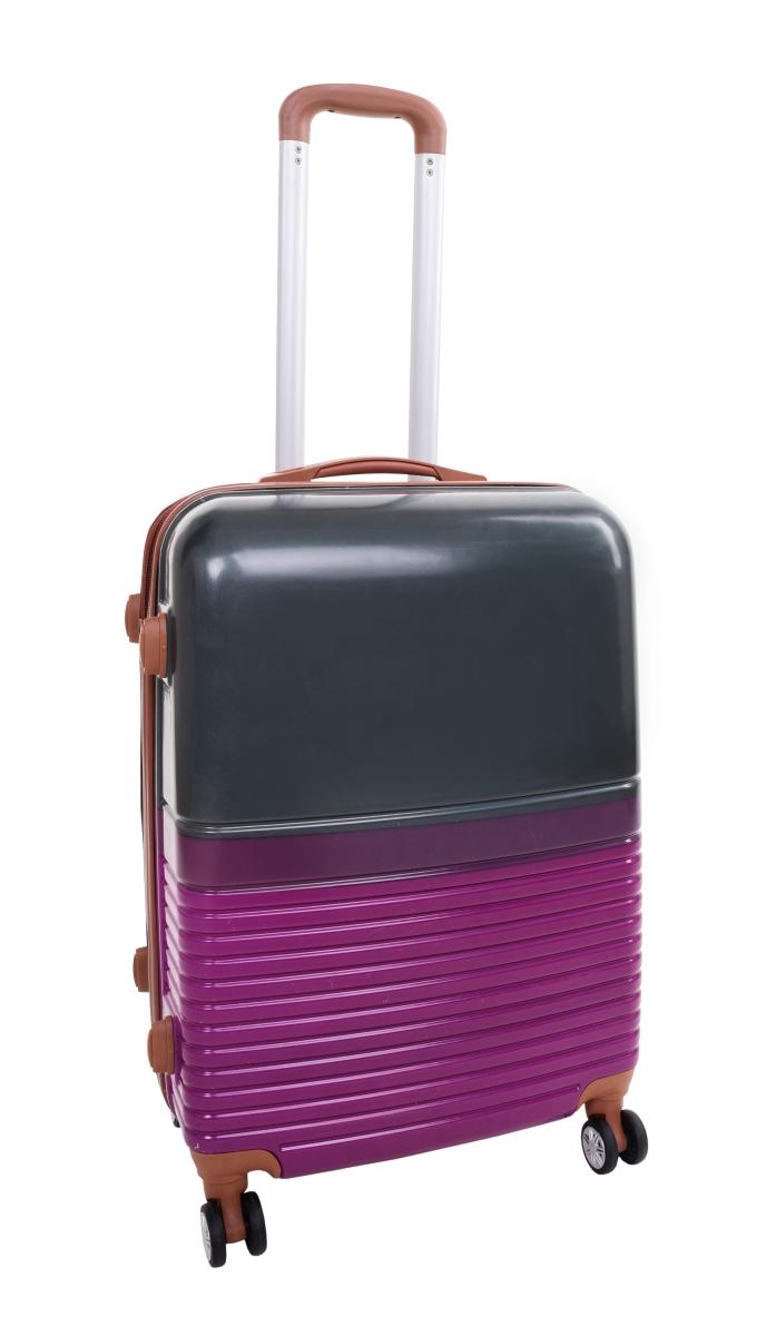 Kufr menší GRAY PURPLE 37 x 23 x 50 cm