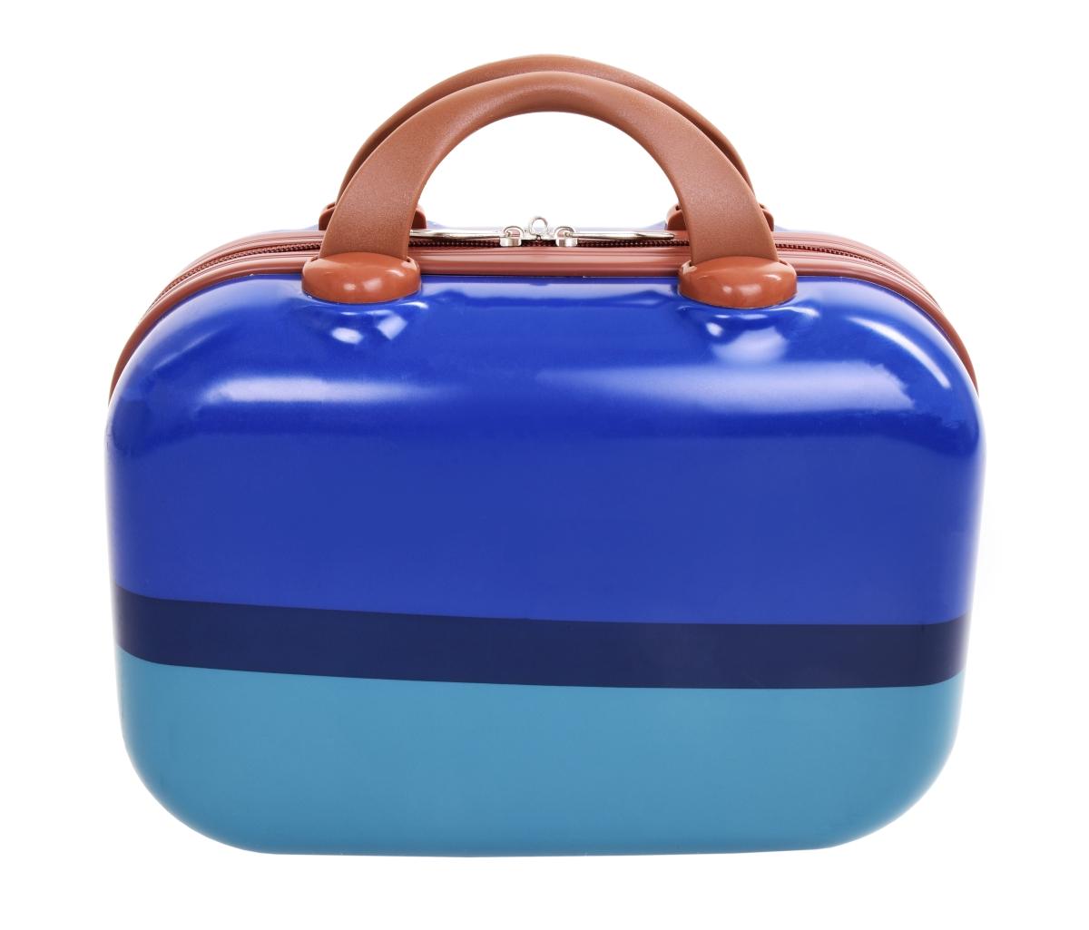 Kufr příruční menší BLUE TURQUOISE 32 x 14 x 24 cm