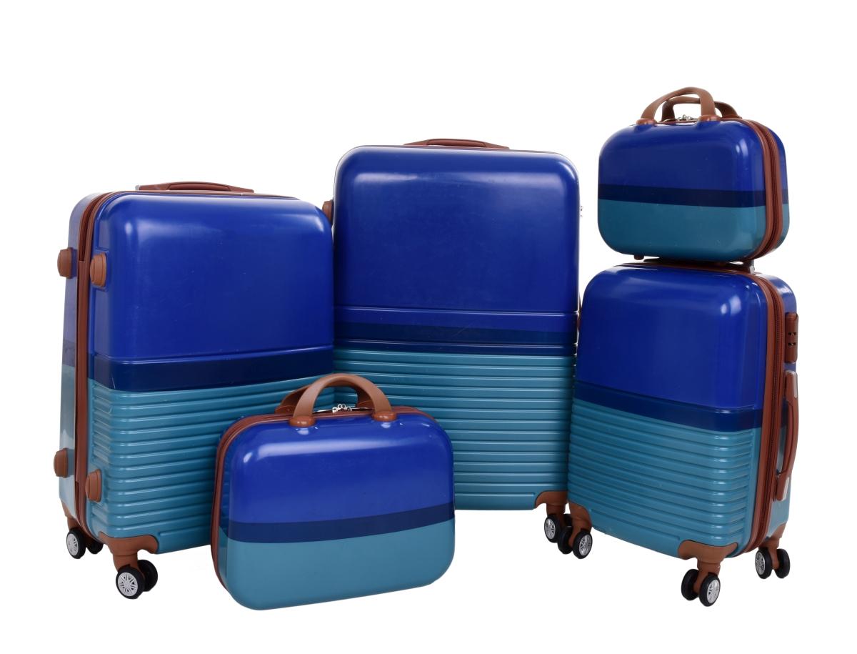 Kufr příruční větší, BLUE TURQUOISE