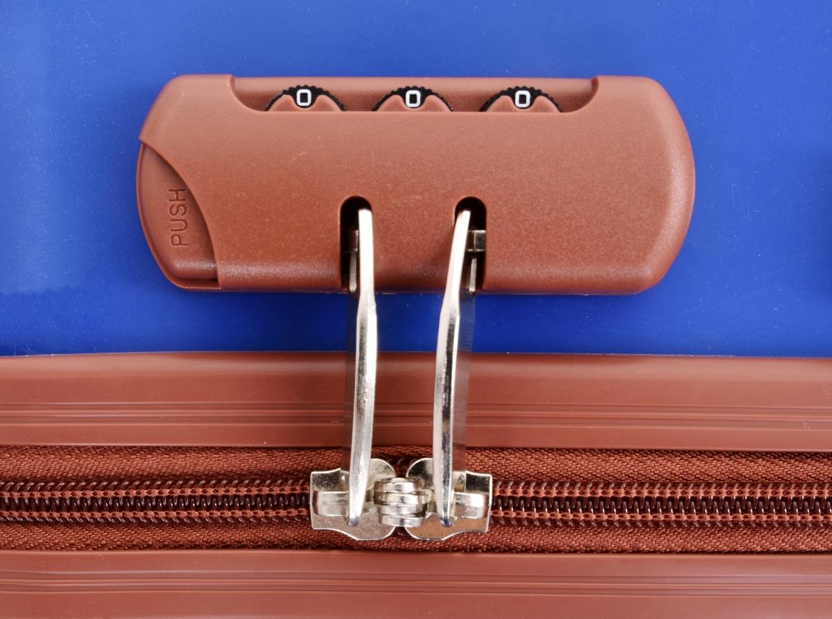 Kufr menší, BLUE TURQUOISE