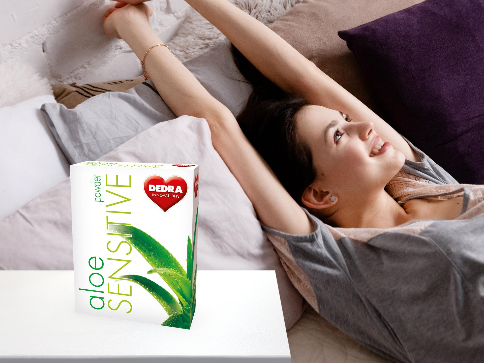 aloeSENSITIVE prací prášek pro citlivou pokožku, koncentrovaný