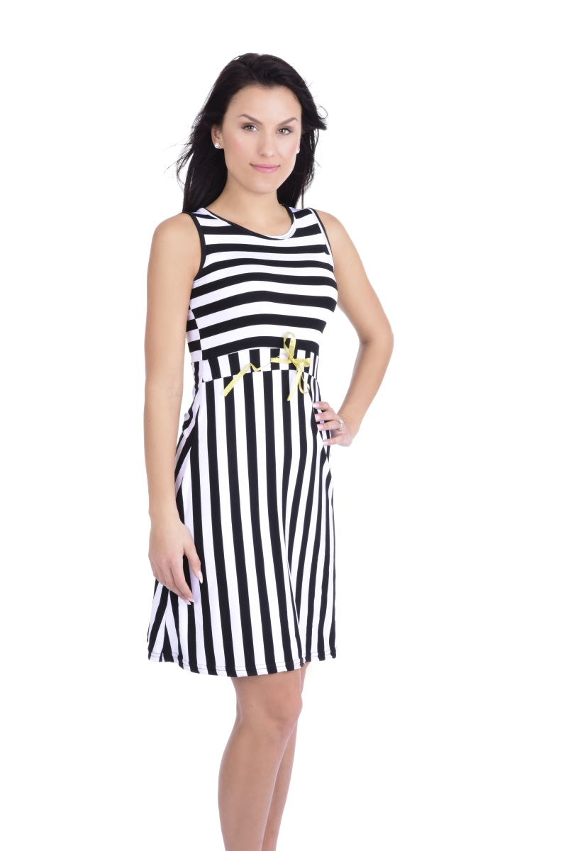 STREAKY  pruhované šaty