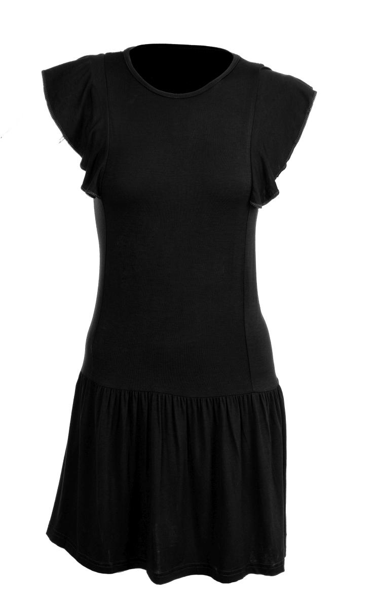 TAINY krátké šaty/tunika černé